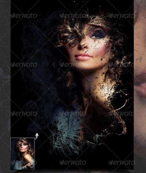 Liquid Image Frame