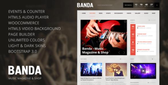 banda-wordpress-music-magazine