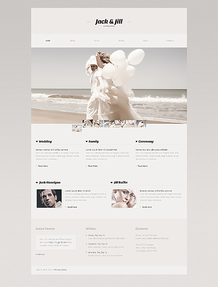 wedding minimalist