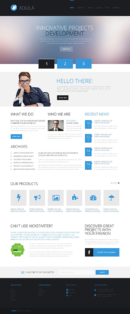 xoula business wordpress