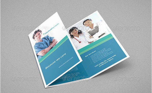 Medical-services-trifold-brochure