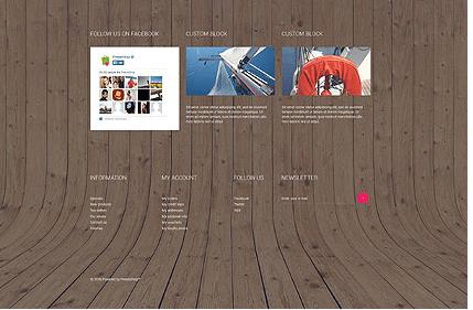 Template 53505 Marine Store Responsive PrestaShop Theme