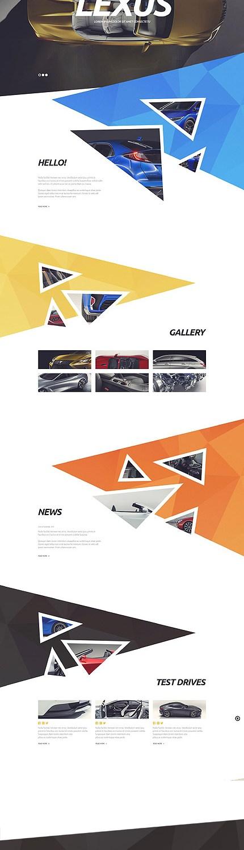 Template 53882 - Motor Cars Responsive WordPress Theme