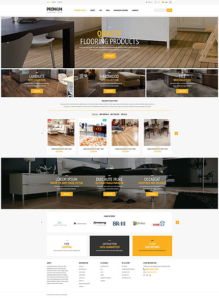 Template 54806 - Premium Floor Responsive PrestaShop Theme