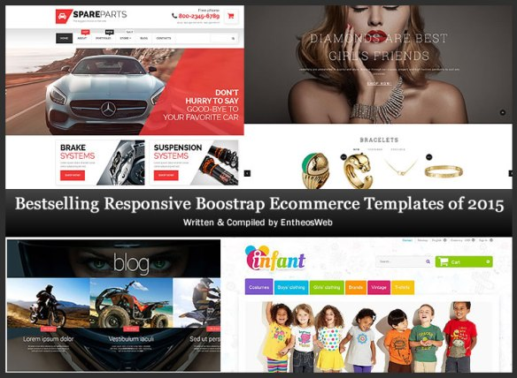 Bestselling Responsive Boostrap Ecommerce Templates of 2015
