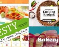 Zesty Food Website Templates