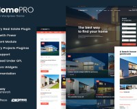 Template 61275 - Real Estate Responsive WordPress Theme