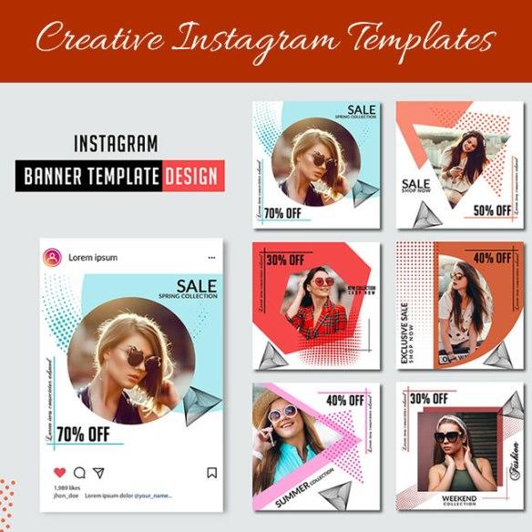 Creative Instagram Templates