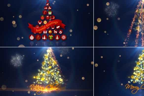Christmas Tree Animated Videos