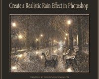 Rain Effect in Photoshop