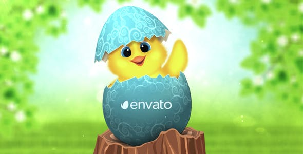 Easter Day After Effects Video Template