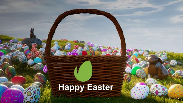 Happy Easter After Effects Video Template