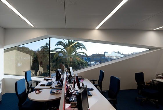 Vodafone Head Office Portugal Eoffice Coworking Office Design - Vodafone-head-office-portugal