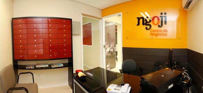 Front desk  & mail boxes