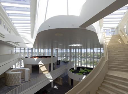 Orestad Gymnasium, Kobenhavn, DK - 3XN www.3xn.dk