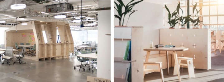 Impact HUB and Greenpeace offices - designed by OpenDesk