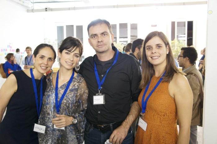 Sandra, Mona & Clara, eOffice with Rainer Schuppe, Cowoxu Malloeca