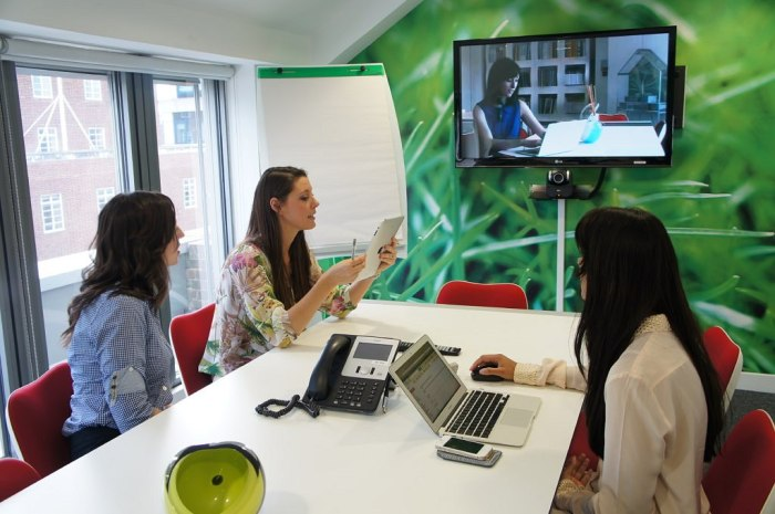 Video Conferencing at eOffice Soho