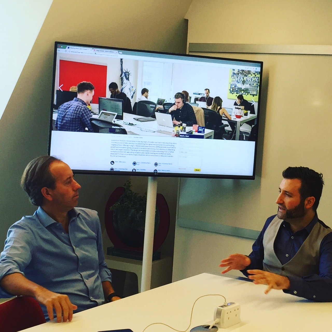 The meeting space of the future an interview with mike for Office design of the future