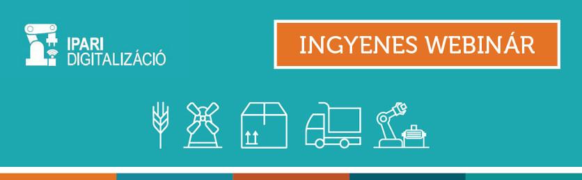 ipar 4.0 ingyenes webinar