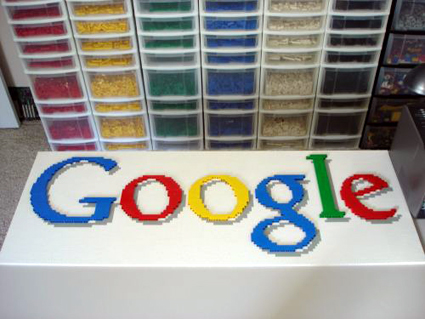 Another Google Logo Lego Project   ePromos Promotional Blog giant lego google logo