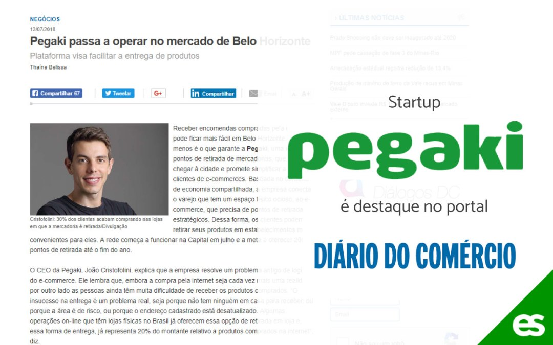 Pegaki passa a operar no mercado de Belo Horizonte