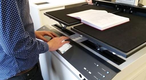 multifunction printer scanner for digitizing paper documents