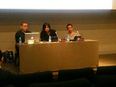 Li Zhenhua, Yang Fudong and Jiang Zhi
