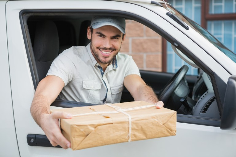 on demand parcel delivery app