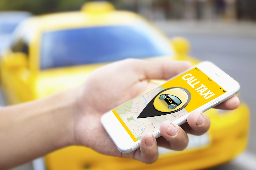 taxi app feature