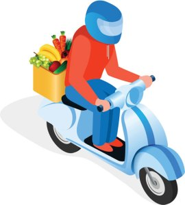 grocery shopping delivery app