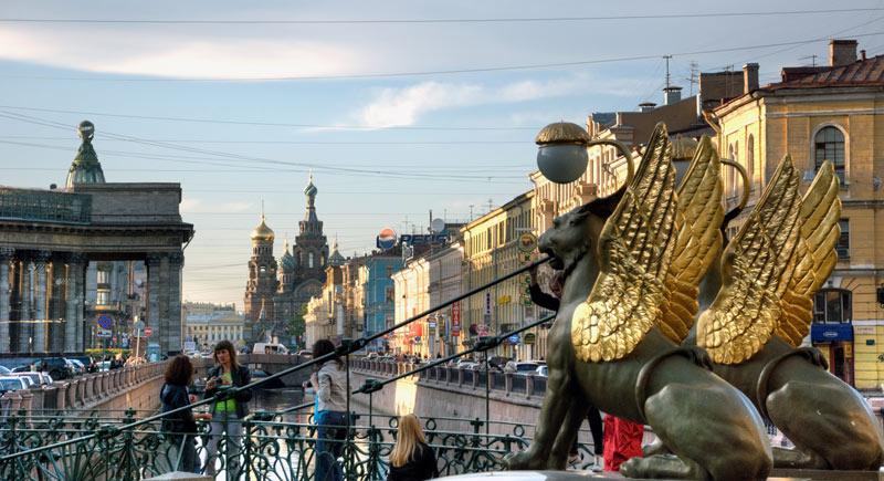Bank Bridge Saint Petersburg