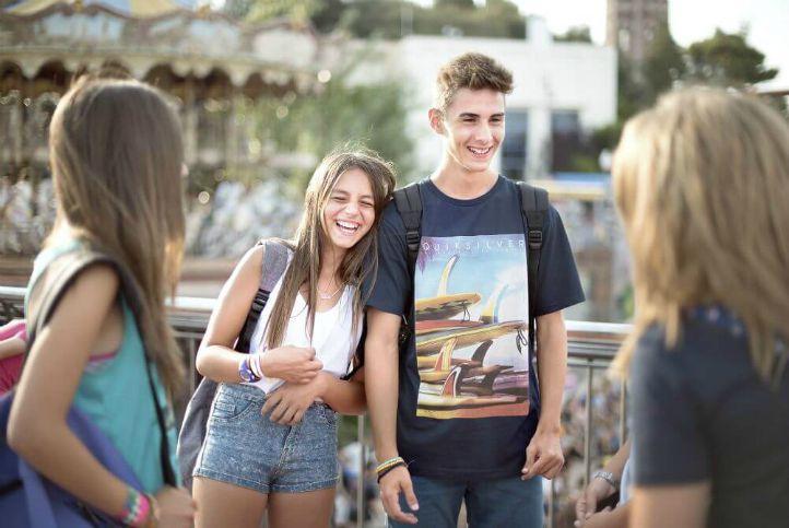 teenagers language stay