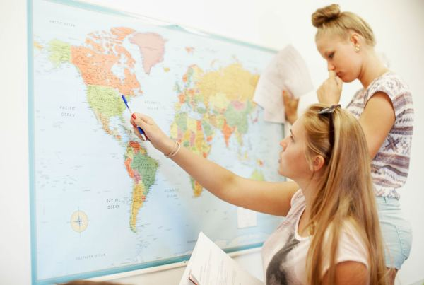 students world map