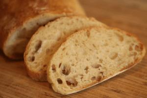 Pan sin gluten elaborado con Psyllium