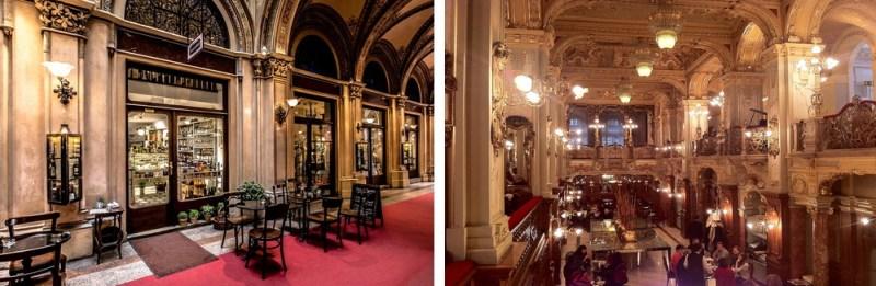 Kaffeehäuser Wien, Budapest