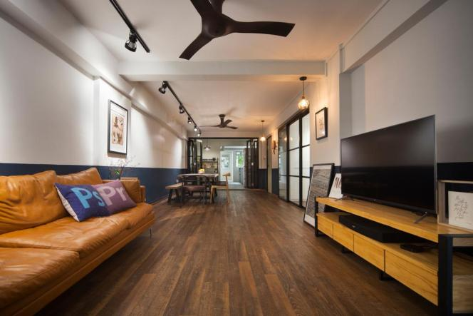 ceiling fans in wide living room Versaform singapore sg