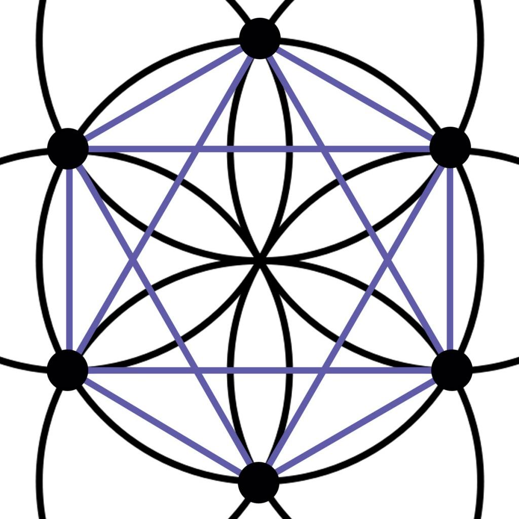 lilahexagrammhexagon