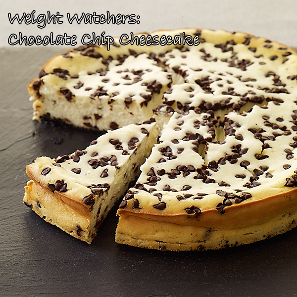 Weight Watchers: Chocolate Chip Cheesecake - The Crafty Working Mom