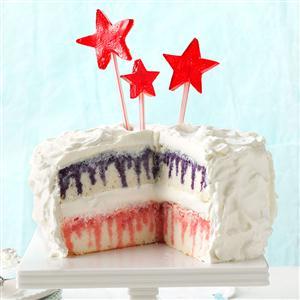 Red, White & Blue Poke Cake