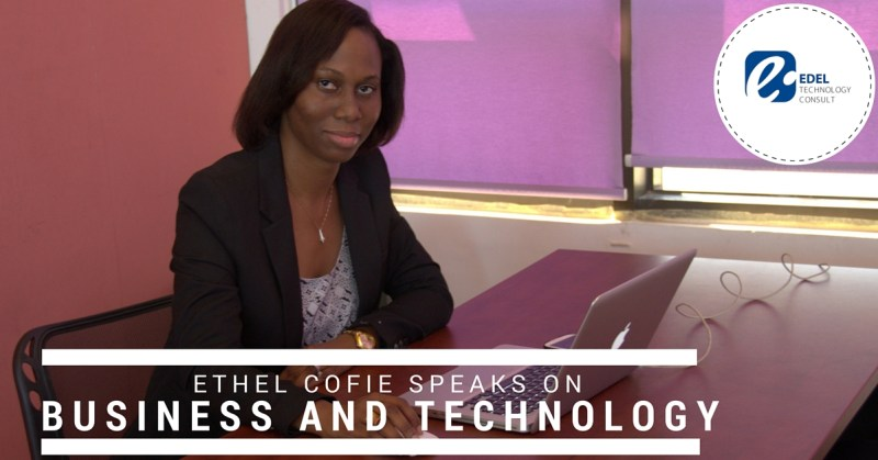 Ethel Speaks Technology and Business