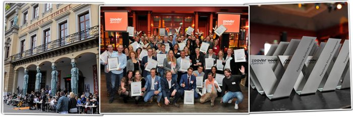 Feest Zoover Awards uitreiking 2015