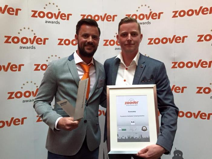Zoover Awards winnaar 2015