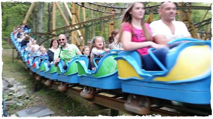 Review vakantiepark Duinrell - foto Kikkerachtbaan - Eurocamp campingvakanties