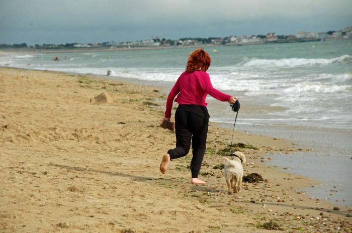 Camping Les Ecureuils in de Vendee: Hond toegestaan op het strand bij de camping