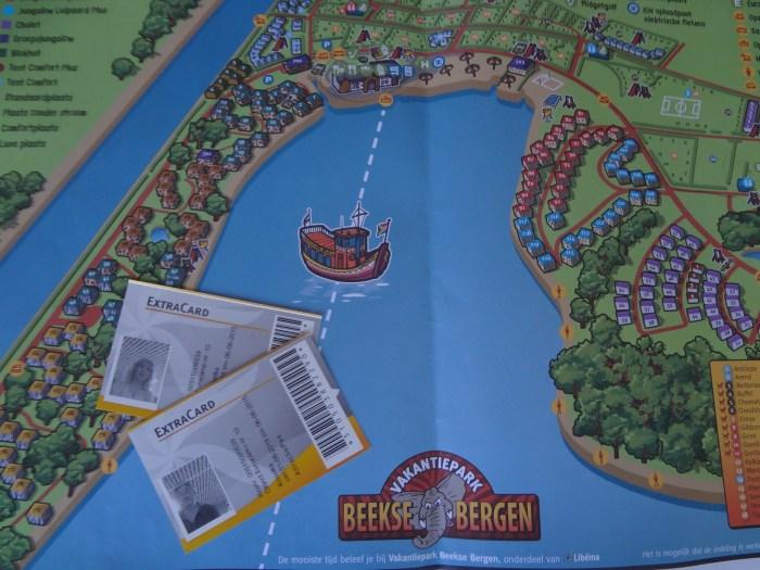 Plattegrond Vakantiepark Beekse Bergen - Eurocamp