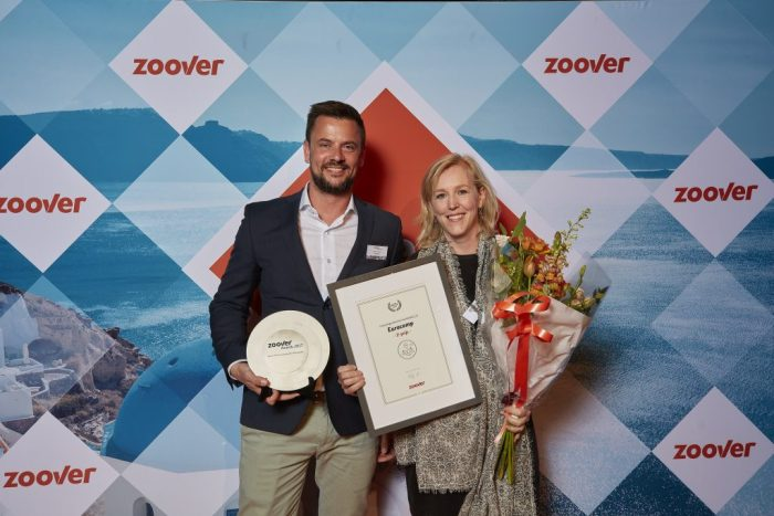 Uitreiking Zoover Awards 2017- Eurocamp campingvakanties
