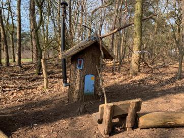 Wandelroute Noord-Brabant camping TerSpegelt
