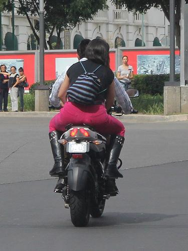 motoristas sin casco