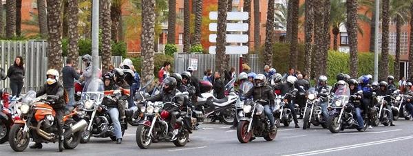 concentracion flamencos motoristas
